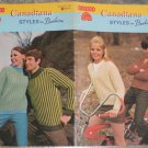 Patons Beehive Canadiana Styles by Beehive Vintage Knitting Pattern Booklet #124