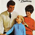 Patons Astra Easy-Knits for the family by Beehive Knitting Pattern Booklet #105