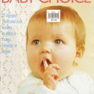 Patons 1981 Knitting And Crochet Pattern Booklet #235 Baby Choice