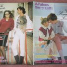 Patons 1983 Knitting Pattern Book #252 Hurry Knits The Romantic Look 17 Designs