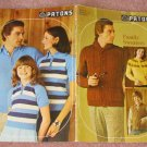 Patons Beehive Knitting Patterns Family Sweaters #401