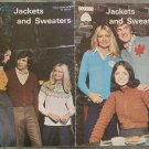 Patons Beehive Vintage Knitting/Crochet Pattern Booklet #5 Jackets and Sweaters
