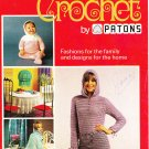 Patons & Baldwins 1972 Crochet Pattern Book 2nd Steps in Crochet by Patons #179
