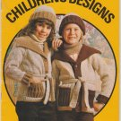 Patons Children's Designs #410 Knitting & Crochet Pattern Book