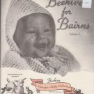 Patons Knitting Pattern Booklet Beehive for Bairns Volume 3 Book No.903DD