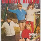 Patons Junior Arans No. 159 Vintage Knitting Pattern Book