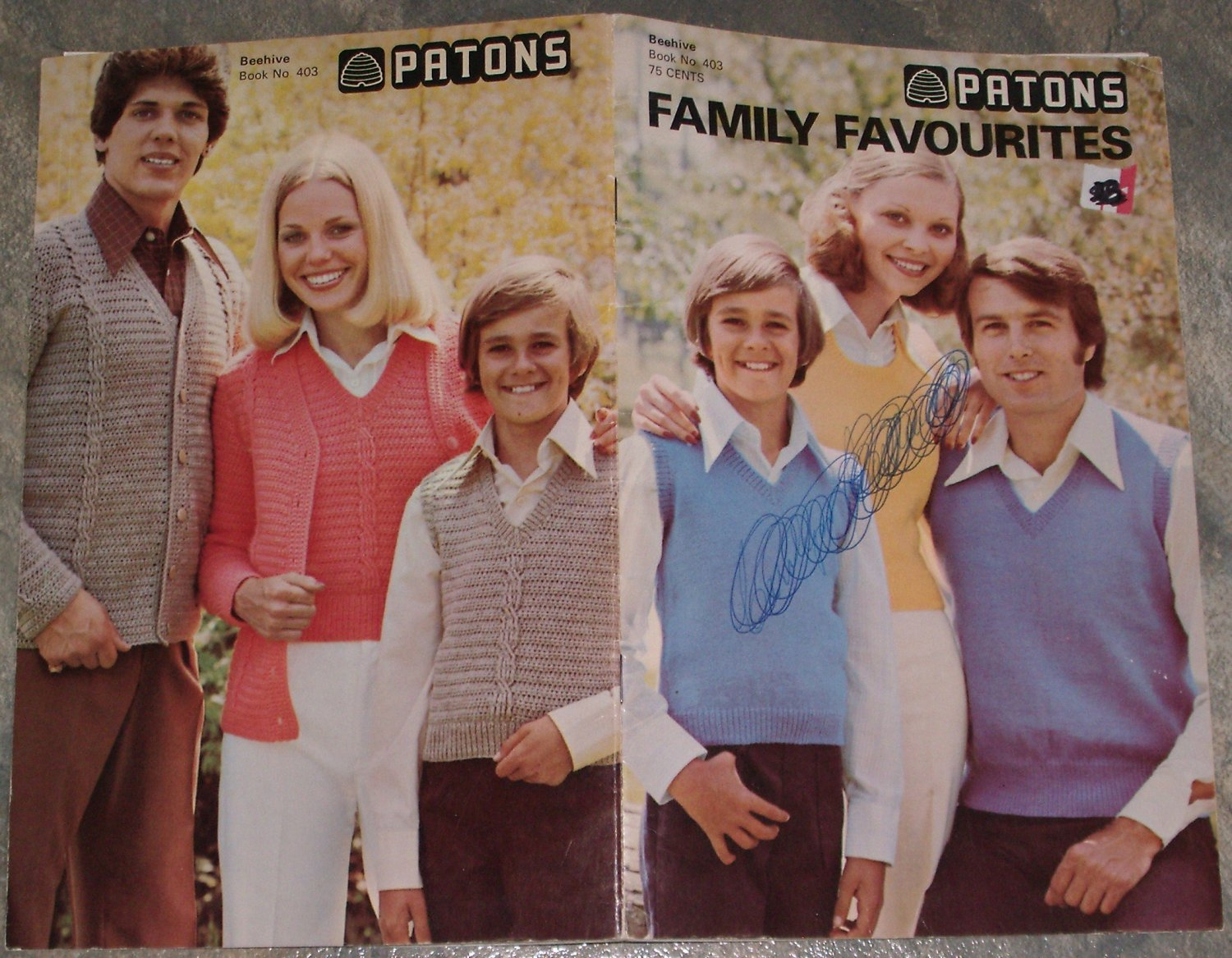 Patons Family Favourites Knitting Pattern Booklet #403