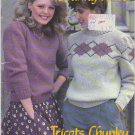 Patons Beehive 1983 Chunky Knits #447 Knitting Pattern Booklet