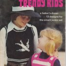 Patons Trendy Kids Vintage Knitting Pattern Book #200 - 13 designs for juniors