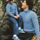 Patons Beehive Vintage 1981 Knitting Pattern Book #432 Knit for your Man!