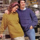 Patons Knitting Pattern Booklet #549 Casual Living