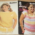 Patons Beehive Vintage 1982 Knitting and Crochet Pattern Book Misty #438