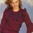 Patons Beehive Fashion Knits 1983 Knitting Pattern Booklet #441