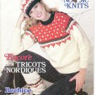 Patons Beehive 1984 Knitting Pattern Booklet #452 More Nordic Knits