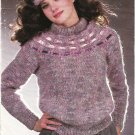 Patons Princess Fashion Knits 1983 Knitting Pattern Booklet #443