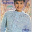 Patons Beehive 1985 Knitting Pattern Book #470 Simple Pleasures