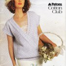 Patons 1986 Knitting Pattern Book #482 Quiet Moments