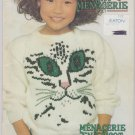 Patons Beehive 1987 Knit Menagerie Vol.1 Knitting Pattern Booklet #495CC