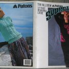 Patons 1986 Knitting Pattern Book No 513 The All New Patons Super Wool