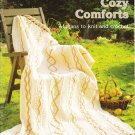 Patons 1987 Pattern Book No. 590 Cozy Comforts Afghans To Knit and Crochet