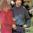Patons 1991 Knitting Pattern Booklet #653CC Casual Knits