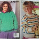 Patons Small Things Bright & Beautiful 1990 Knitting Pattern Booklet #643