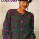 Patons 1992 Knitting Pattern Book #679CC Canadiana Colors