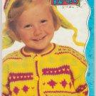 Patons 1991 Canadiana Kids 1 Knitting Pattern Book #657JJ