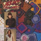 Patons Great Grannies 1993 Crochet Pattern Book #569FF