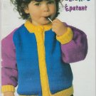 Patons Bright Delights 1993 Knitting Pattern Booklet #694CC