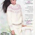 Patons Around The Seasons 1991 Knitting Pattern Book #548FF