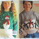 Patons 1993 Winter Fun Knitting Pattern Booklet #693CC
