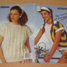 Patons 1987 Knitting Pattern Book #600 The Look Of Summer