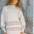 Patons 1991 Knitting Pattern Book #656CC At Home & Away