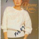 Patons 1988 Knitting Pattern Book #615 Dream Knits