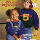 Patons Good Sports 1995 Knitting Pattern Book #580EE