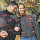 Patons His & Hers 1997 Knitting Pattern Book #912HH