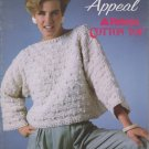 Patons Susan Bates 1985 Knitting Pattern Booklet # 17724 Sun Appeal