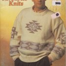 Patons 2000 Knitting Pattern Booklet #637CC His Favourite Knits