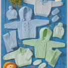 Peter Pan Double Knit Baby Outfit Knitting Pattern Leaflet #P799
