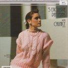 Phentex Fashion Knit Knitting Pattern Leaflet #22510E