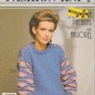 Phentex Fashion Knits Pattern Leaflet #92515E