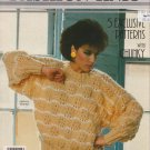Phentex Fashion Knit 5 Designs Knitting Pattern #92514E