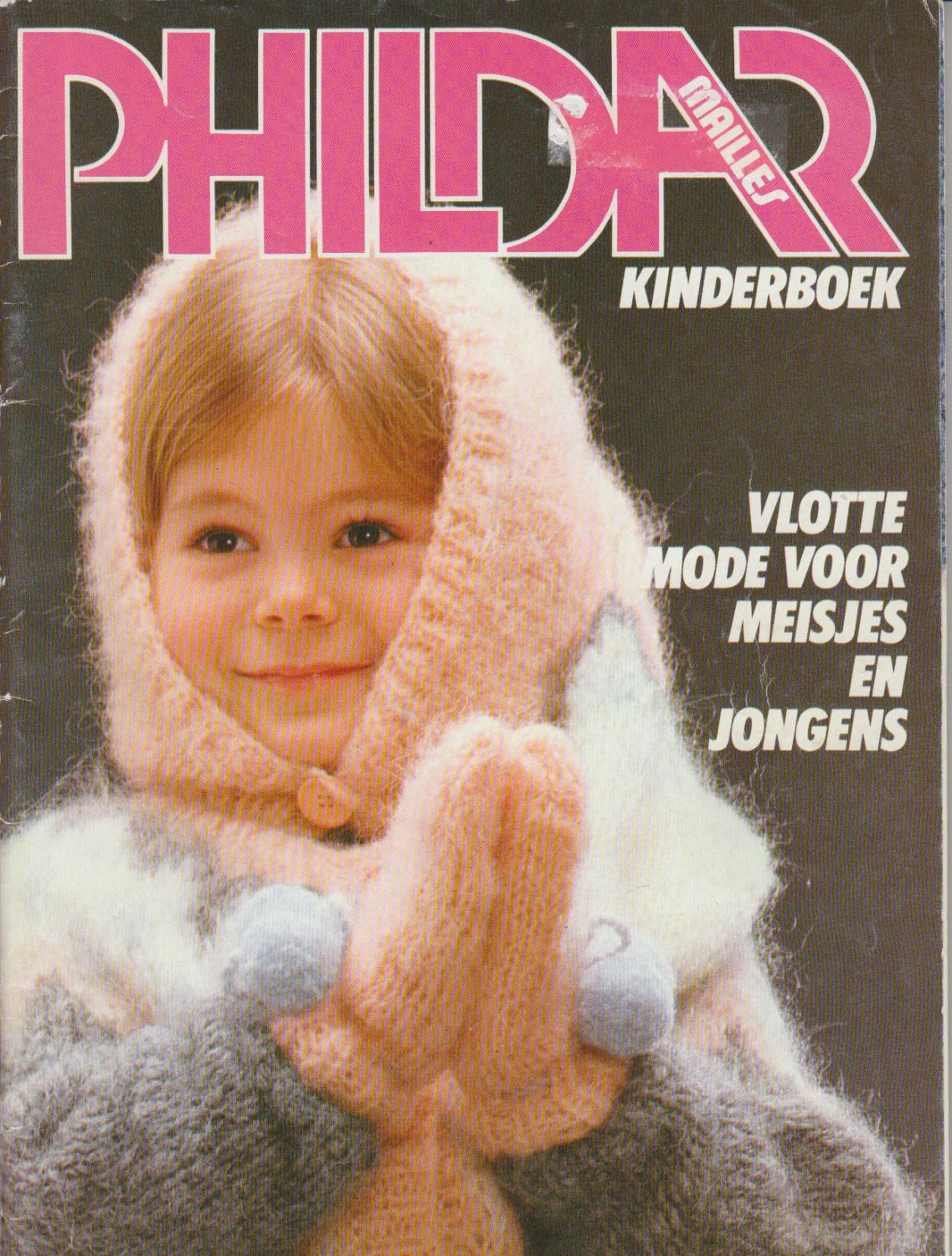 Phildar Mailles Kinderboek No.101 Knitting Magazine Dutch Edition