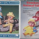 Plaid Enterprises 1983 Pattern #7558 Crocheted Animal Infants Sue Penrod Designs