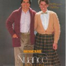 Reynolds Nuance Easy Care Classics Knitting Pattern Volume 26