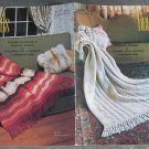 Reynolds Afghan pattern booklet Vol.101 Designer Collection of Reynolds Afghans