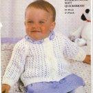 Robin Knitting Pattern #13512 Bambino Super Soft Quickerknit in sizes 17-19 Inch
