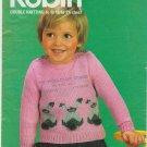 Robin Knitting Pattern #13042 Double Knitting to fit 18 to 24 inch chest