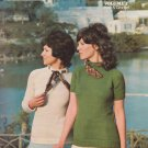 Sears Fashion Knits Volume 1 Knit & Crochet Pattern Book